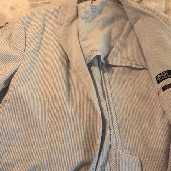 Polo Seersucker Sports Jacket